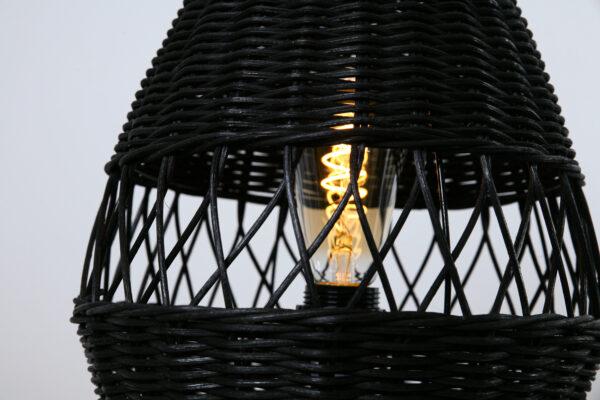 Tafellamp Ruit 35 Zwart