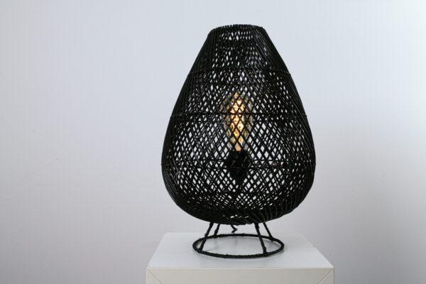 Tafellamp Granaat 35 Zwart