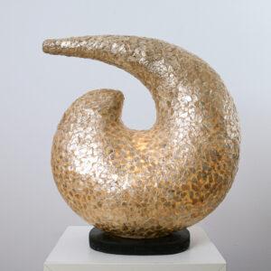 TL Hera 45cm parelmoer amber