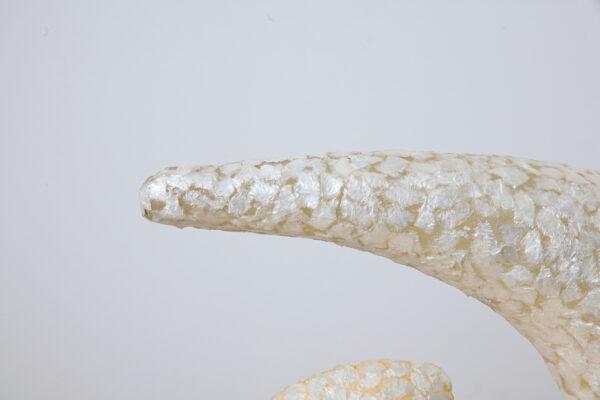 TL Hera 45cm parelmoer wit
