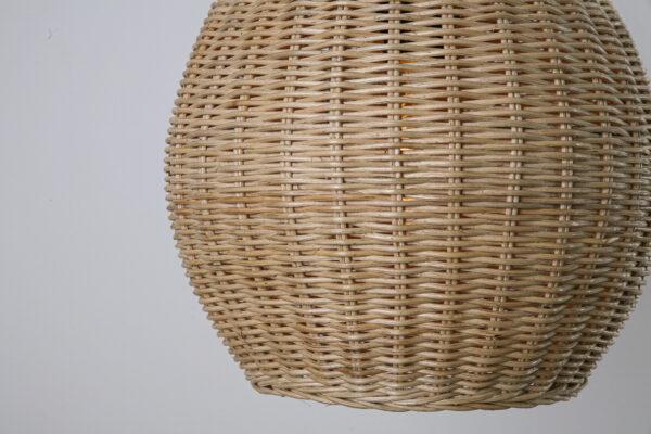 Tafellamp Pompoen 68cm naturel