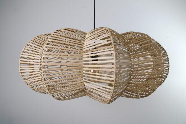Hanglamp Hauwert 50 cm naturel