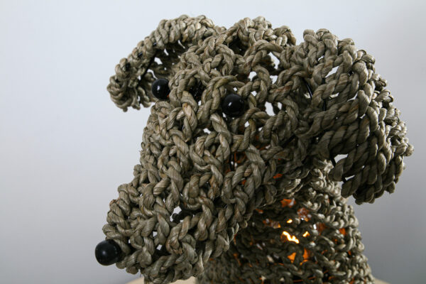 Tafellamp Dog Naturel