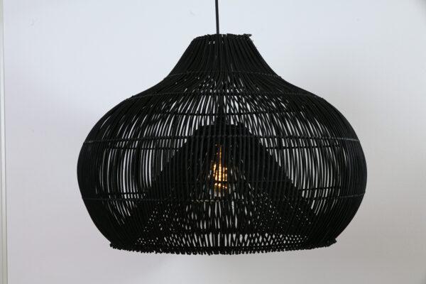 Hanglamp Twisk 70cm zwart