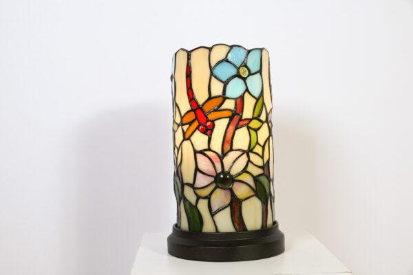 Tafellamp Cilinder Tiffany Klein