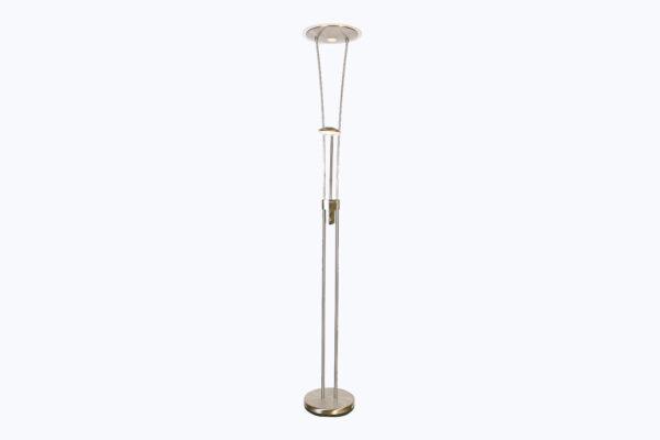 Vloerlamp Tokio RVS,LED 18/5W 2700K