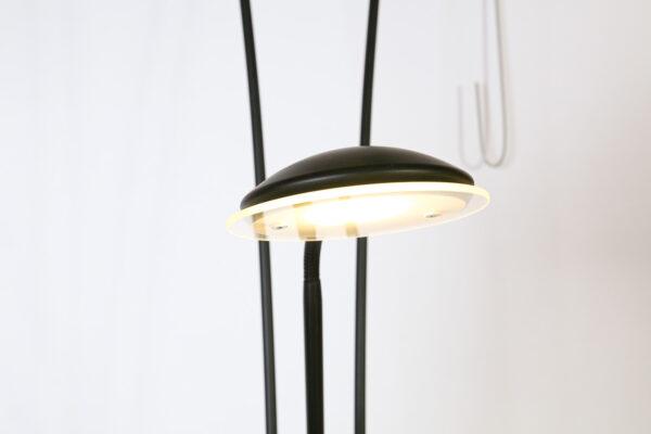 Vloerlamp Tokio Zwart,LED 18/5W 2700K