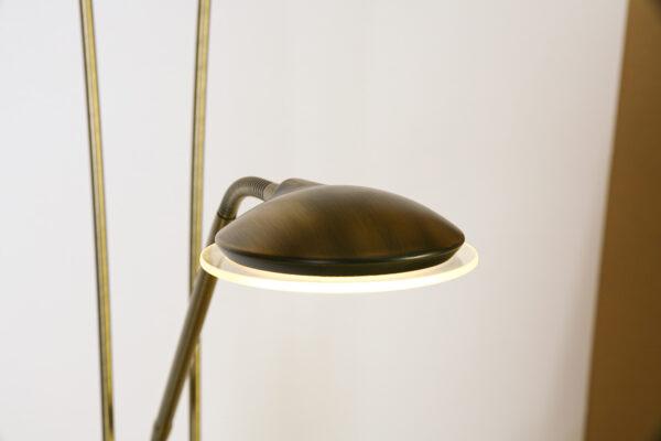 Vloerlamp Tokio Brons,LED 18/5W 2700K