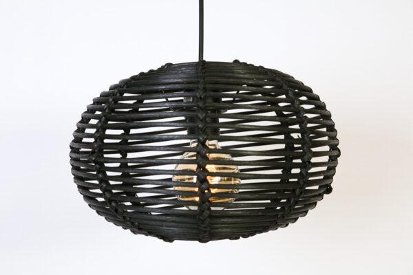 Hanglamp Rimboe 30 cm Zwart