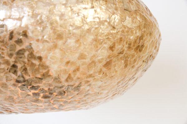 Hanglamp Apollo 30 cm Amber