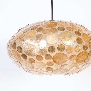 Plafonniere Ufo 40 cm Amber