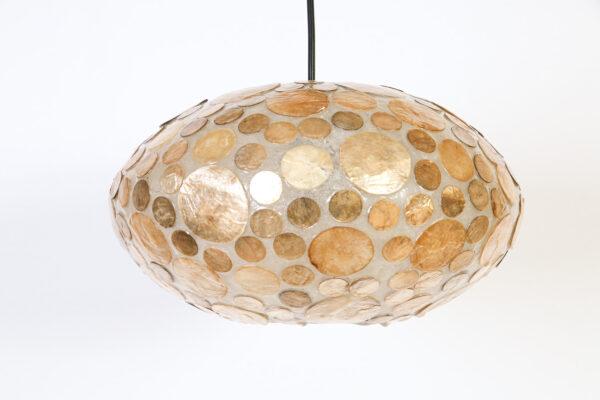 Hanglamp Ufo 40 cm Amber