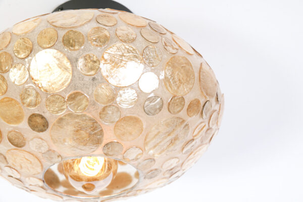 Plafonniere Ufo 30 cm Amber